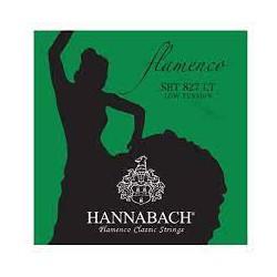 Juego de Cuerdas Hannabach FLAMENCO LT SET 827