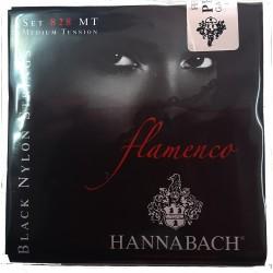 JUEGO CUERDAS HANNABACH GOLDIN FLAMENCO 828 MT