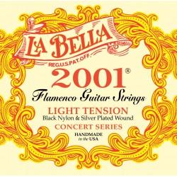 CUERDAS LA BELLA 2001 FLAMENCO PROFESIONAL H. JUEGO